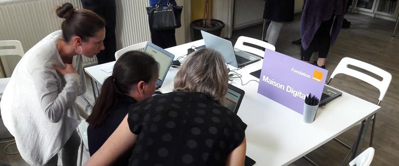 Appel à Projets Fondation Orange : Maisons Digitales en France