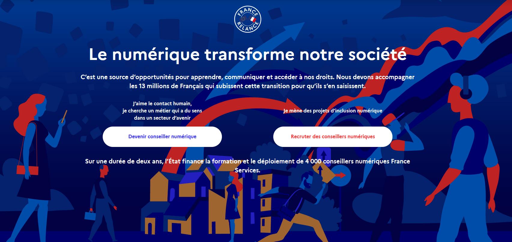 Le dispositif «Conseillers Numériques France Services» s'ouvre aux associations